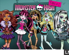Painel Monster High 2,00x1,00m