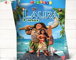 Revista Colorir Moana