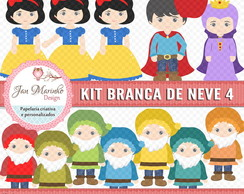 Kit Digital Branca de Neve 4