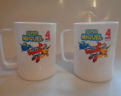 Caneca de 300ml Super Wings
