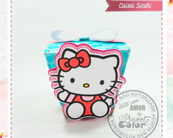 CAIXA SUSHI - Hello Kitty