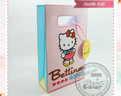 SACOLA - Hello Kitty