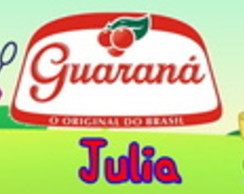 Rotulo guarana Peppa Pig