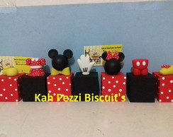 cubos mickey e minie de biscuit
