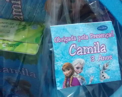 Kit Cinema Frozen com suco