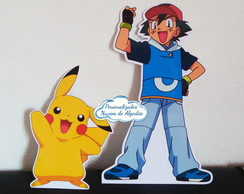 Display de mesa - Pokemon - VARIOS TEMAS