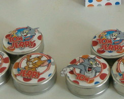 Latinha personalizada tom e jerry