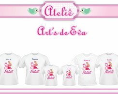 Kit Camiseta Barbie