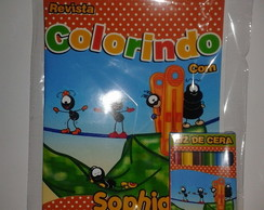 Kit de colorir Smilinguido