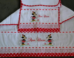 KIT DE FRALDA PERSONALIZADA - MINNIE