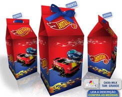 Caixa Milk Grande - Hot Wheels