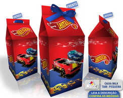 Caixa Milk Pequena - Hot Wheels