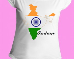 Camiseta India gola canoa 1