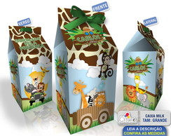 Caixa Milk Grande - Safari
