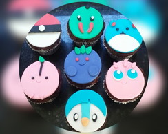 Cupcake Decorado Pokemon