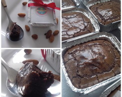 Brownie de Chocolate na Marmita