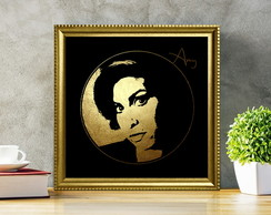 Amy Winehouse círculo dourado
