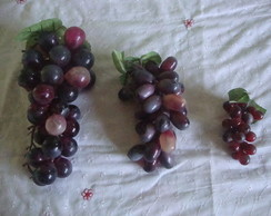 kit uvas artificiais