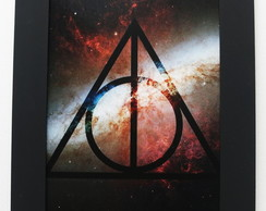 Quadro Harry Potter - Reliquias da Morte
