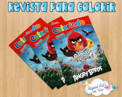 Revista de colorir Angry Birds 2