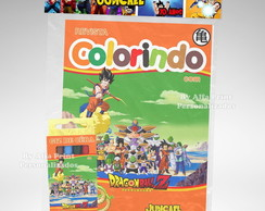 Kit Colorir Dragon Ball Z + Brindes