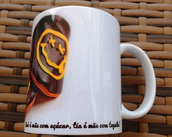 Caneca porcelana com estampas exclusivas