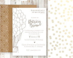 Kit Digital Casamento - Country Dots