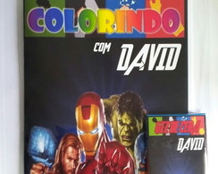 Kit de Colorir Vingadores