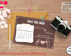 Convite Digital Save The Date