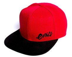 BONÉ SNAPBACK BLACKRED