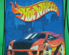 Mochilinhas tema Hot Wheels