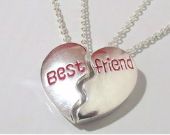 Colar Amizade Best Friends 2 Partes.