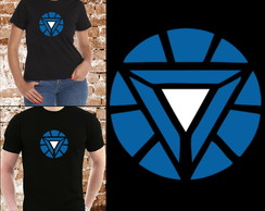 Camisetas Tony Stark - Arc Reactor