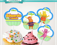 Topper Cupcake backyardigans