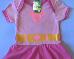Body Fantasia Super Girl Rosa Baby