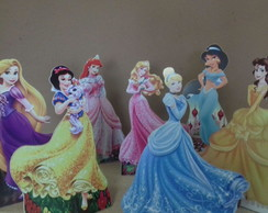 Kit Princesas Disney /Mdf