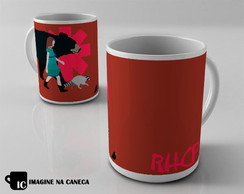 Caneca Red Hot Chilli Peppers