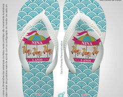 Lembrancinha Chinelo CARROSSEL