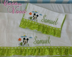 Kit Fraldas Mickey Verde