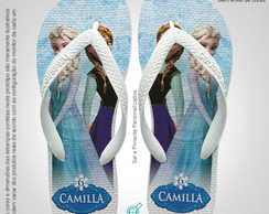 Lembrancinha Chinelo Frozen Olaf Sven