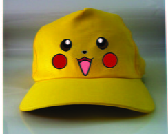 Boné do Pikachu