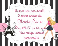 Save the date Digital Barbie em Paris