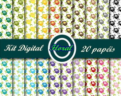 Kit Digital Floral