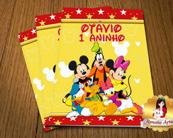 Revista Colorir Com com giz Mickey