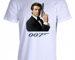 Camiseta 007 - James Bond - 01