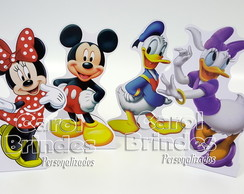 Kit c/ 7 totens de 25cm c/base Mickey