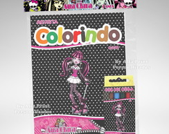 Kit Colorir Monster High + Brindes