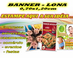 Banner Painel Personalizado 0,70x1,20cm