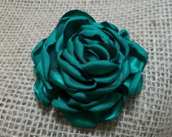 Flor para cabelo Beautiful green flash l