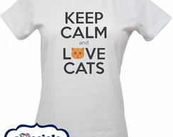 CAMISETA LOVE CATS